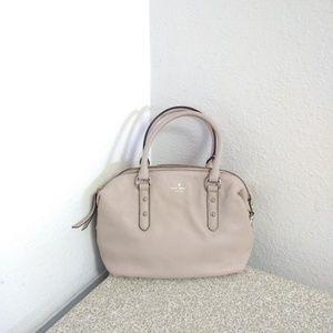 Kate Spade NY Cream Pebbled Leather Bag